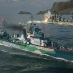 World of Warships Destroyer